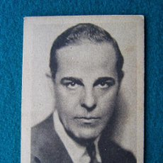 Cine: ANTONIO MORENO - ESTRELLAS DEL CINE - Nº 40 - UNIVERSAL FILM - AÑOS 1920/30 ?. Lote 35569190