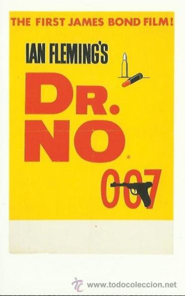 POSTAL JAMES BOND 007 (Cine - Fotos y Postales de Actores y Actrices)