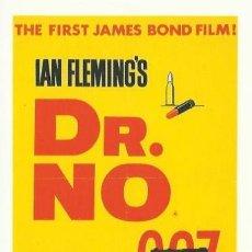 Cine: POSTAL JAMES BOND 007. Lote 40357779