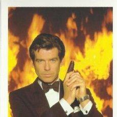 Cine: POSTAL JAMES BOND 007-PIERCE BROSNAN -GOLDENEYE. Lote 48390379