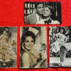 Cine: CARMEN SEVILLA, LOTE DE 4 FOTOGRAFÍAS, (9X14) PAN AMOR Y...ANDALUCIA. Lote 35597328