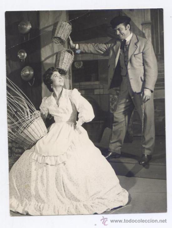 FOTOGRAFIA DE LLUIS NONELL (ACTOR DE TEATRO) CON AUTOGRAFO (Cine - Fotos y Postales de Actores y Actrices)