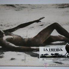 Cine: FOTOCROMO EN CARTON DURO - LA BIBLIA. Lote 35644885