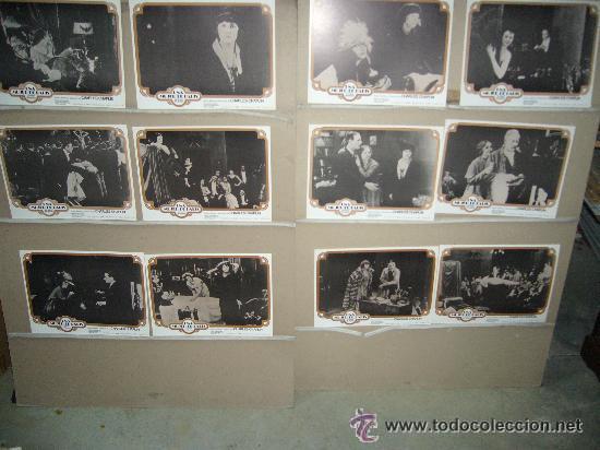 UNA MUJER DE PARIS CHARLES CHAPLIN EDNA PURVIANCE JUEGO COMPLETO B(1160) (Cine - Fotos, Fotocromos y Postales de Películas)
