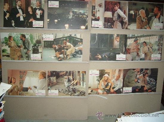 MI QUERIDA COMISARIO ANNIE GIRARDOT JUEGO COMPLETO B(125) (Cine - Fotos, Fotocromos y Postales de Películas)