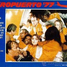 Cine: LOTE DE 12 FOTOCROMOS DE LA PELICULA AEROPUERTO 77 JACK LEMON JAMES STEWART. Lote 36045801