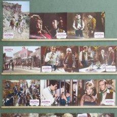 Cine: QD56 LOS CUATREROS FRANK LATIMORE EDMUND PURDOM SPAGHETTI SET COMPLETO 12 FOTOCROMOS ESPAÑOL. Lote 36791578