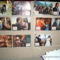 Cine: TODO ES POSIBLE EN GRANADA MANOLO ESCOBAR 11 FOTOCROMOS ORIGINALES B . Lote 35039620