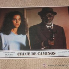 Cine: CRUCE DE CAMINOS, WALTER HILL, 6 FOTOCROMOS, LOBBY CARDS, RALPH MACCHIO, JAMI GERTZ. Lote 36239706