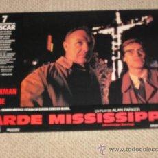 Cine: ARDE MISSISSIPPI, ALAN PARKER, GENE HACKMAN WILLEM DAFOE,12 FOTOCROMOS, LOBBY CARDS, . Lote 36239765