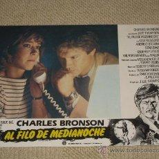 Cine: AL FILO DE MEDIANOCHE, CHARLES BRONSON, J.LEE THOMPSON, LISA ELIBACHER, 12 FOTOCROMOS, LOBBY CARDS. Lote 36320473