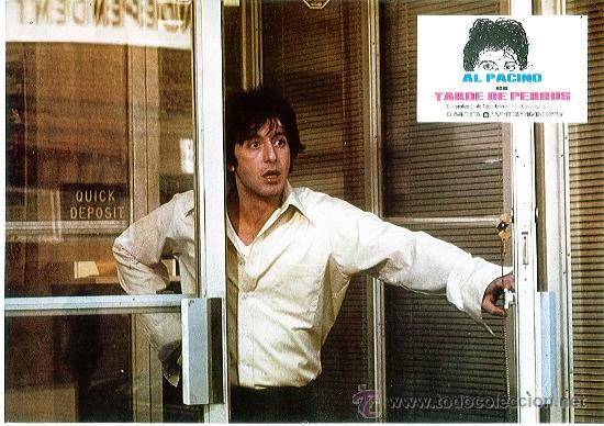 Cine: Juego de 12 fotocromos de la película Tarde de perros. Al Pacino. Originales de época - Foto 4 - 36326672