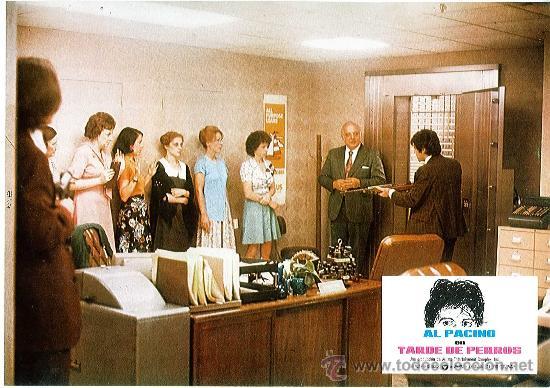 Cine: Juego de 12 fotocromos de la película Tarde de perros. Al Pacino. Originales de época - Foto 5 - 36326672