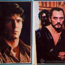 Cine: 4 CROMOS ALBUM TELE-STARS 1978 EDICIONES ESTE -SUPERMAN Nº 166-167-169 Y 170. Lote 36331717