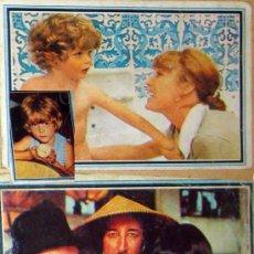 Cine: 3 CROMOS ALBUM TELE-STARS 1978 ED.ESTE 207-208-209 -LA GUERRA DE PAPÁ-LA VENGANZA DE LA PANTERA ROSA. Lote 36365470