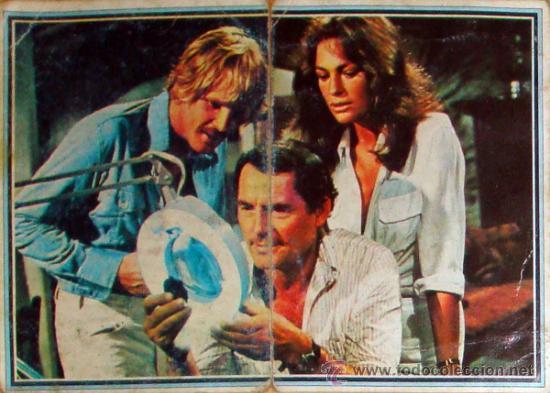 2 CROMOS ALBUM TELE-STARS 1978 EDICIONES ESTE -ABISMO Nº 199-200 (Cine - Fotos, Fotocromos y Postales de Películas)