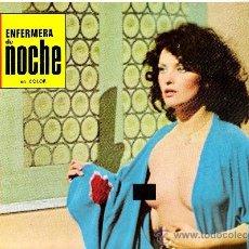 Cinema: ENFERMEERA DE NOCHE FOTOCROMO ORIGINAL DEL ESTRENO DE LA PELICULA LOBBY CARDS GLORIA GUIDA. Lote 36566597