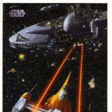 Cine: POSTAL LA GUERRA DE LAS GALAXIAS (STAR WARS): EPISODIO I. Lote 36704965