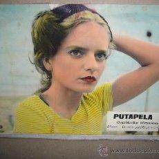 Cine: PUTAPELA OVIDI MONTLLOR MIREIA ROSS 7 FOTOCROMOS ORIGINALES EN CARTON B7. Lote 36735754