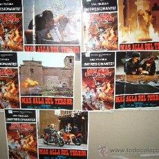 Cine: MAS ALLA DEL TERROR CINE ESPAÑOL DE TERROR TOMAS AZNAR 5 FOTOCROMOS ORIGINALES GRANDES B2. Lote 36822878