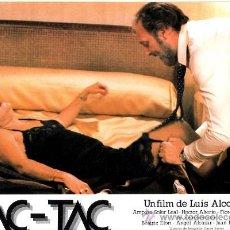 Cinema: TAC-TAC FOTOCROMO ORIGINAL DEL ESTRENO DE LA PELICULA LOBBY CARDS AMPARO SOLER-HECTOR ALTEIRO. Lote 36829798