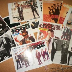 Cine: LOTE 15 POSTALES – RESERVOIR DOGS – QUENTIN TARANTINO - . Lote 37093655