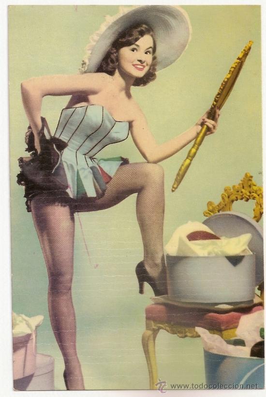 FOTO POSTAL DE LUCY MARLOW AÑOS 50- 60 (Cine - Fotos y Postales de Actores y Actrices)
