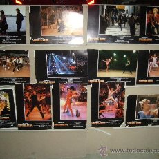 Cine: STAYING ALIVE JOHN TRAVOLTA SYLVESTER STALLONE 11 FOTOCROMOS ORIGINALES (ALM). Lote 37395839
