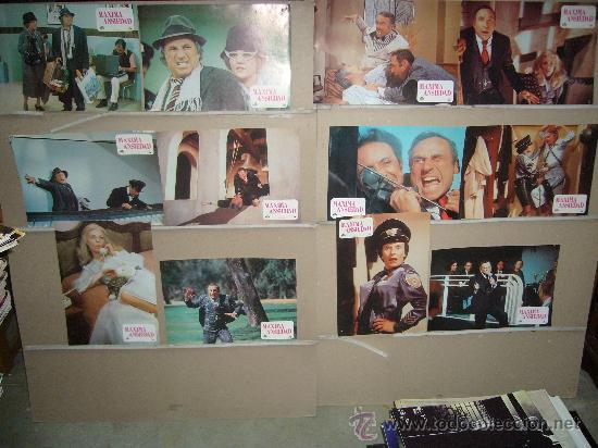 MAXIMA ANSIEDAD MEL BROOKS JUEGO COMPLETO B2(213) (Cine - Fotos, Fotocromos y Postales de Películas)