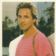 Cine: POSTAL DON JOHNSON. Lote 37452750