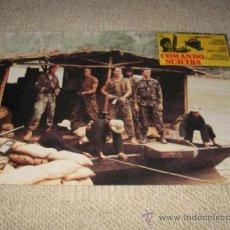 Cine: COMANDO SUICIDA, LEWIS COLLINS, LEE VAN CLEEF, DONALD PLEASANCE, 12 FOTOCROMOS, LOBBY CARDS, GUERRA. Lote 37489069
