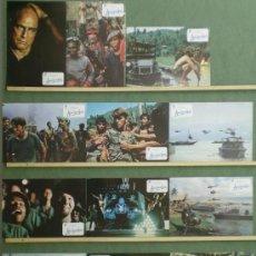 Cine: RV38 SCJ APOCALYPSE NOW COPPOLA MARLON BRANDO SET COMPLETO 12 FOTOCROMOS ORIGINAL ESTRENO. Lote 37526291