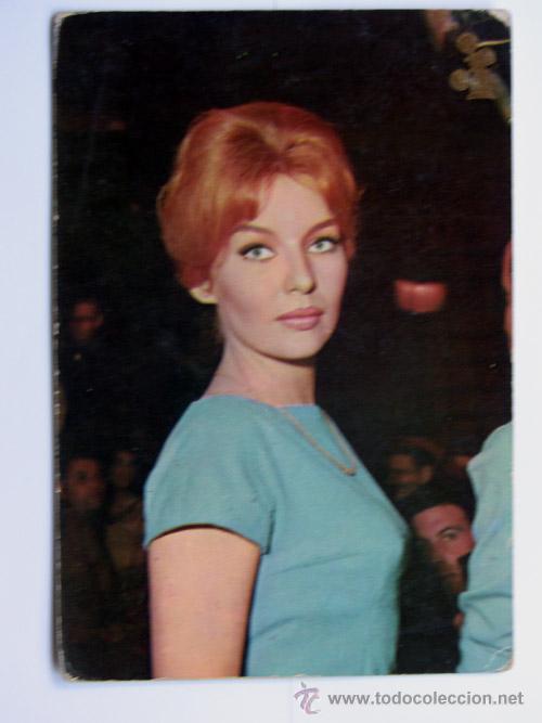 CINE / ANNETTE VADIM / FOTO DE SIRMAN PRESS / POSTALCOLOR /1964 (Cine - Fotos y Postales de Actores y Actrices)