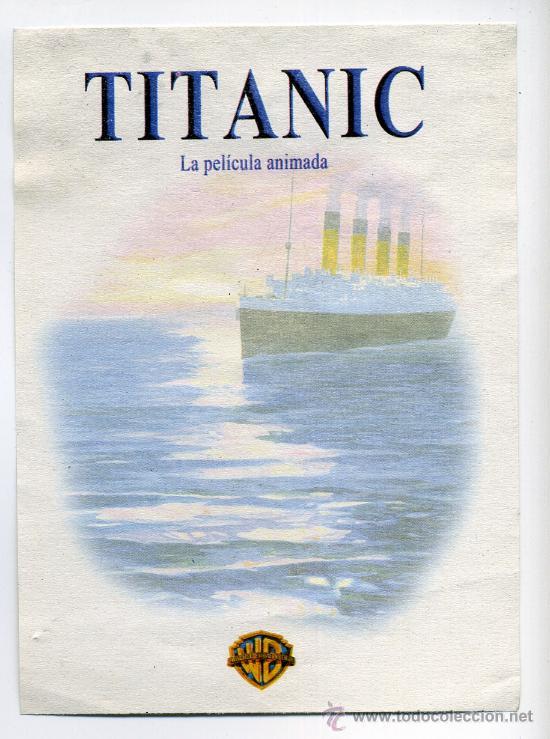 Titanic Dibujos Animados Comprar Fotos Fotocromos Y Postales De