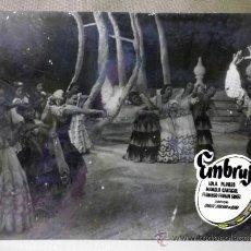 Cine: FOTOCROMO ORIGINAL. PELICULA EMBRUJO. LOLA FLORES. MANOLO CARACOL. ESPAÑA 1947. Lote 37825602