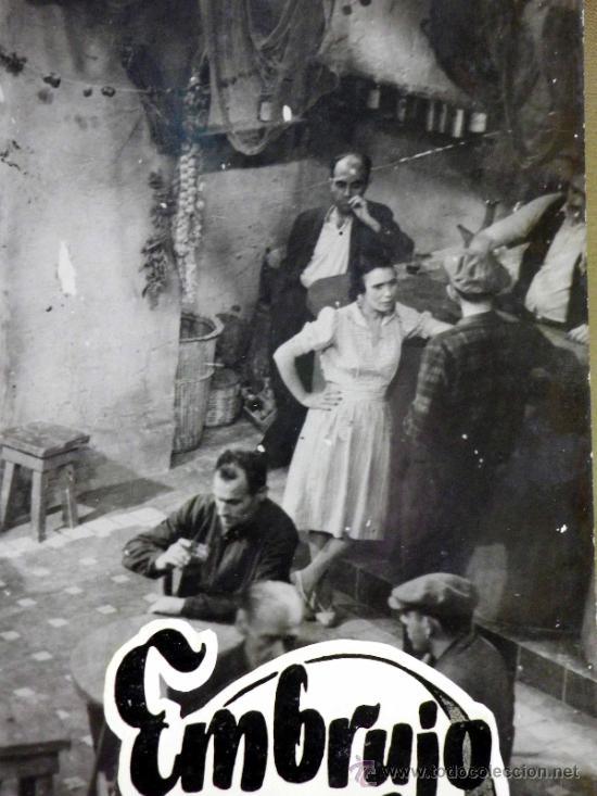 Cine: FOTOCROMO ORIGINAL. PELICULA EMBRUJO. LOLA FLORES. MANOLO CARACOL. ESPAÑA 1947 - Foto 3 - 37825441