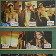 Cine: TH97 QUERELLE FASSBINDER BRAD DAVIS GAY CULT SET 7 FOTOCROMOS ORIGINAL ESTRENO. Lote 37820777