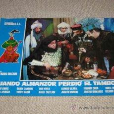 Cine: CUANDO ALMANZOR PERDIÓ EL TAMBOR, ANTONIO OZORES,12 FOTOCROMOS, LOBBY CARDS, CINE ESPAÑOL. Lote 54022077