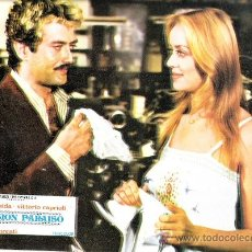 Cinema: PENSION PARAISO FOTOCROMO ORIGINAL LOBBY CARDS GLORIA GUIDA VITTORIO CAPRIOLI. Lote 37997587