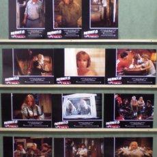 Cine: QT24 VIERNES 13 2 STEVE MINER SET COMPLETO 12 FOTOCROMOS ORIGINAL ESTRENO. Lote 38277075
