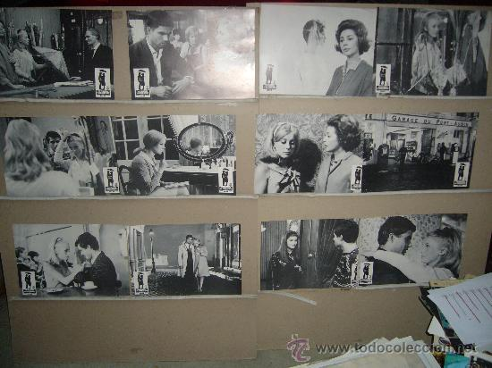 LOS PARAGUAS DE CHERBURGO JACQUES DEMY CATHERINE DENEUVE JUEGO COMPLETO B2(9) (Cine - Fotos, Fotocromos y Postales de Películas)