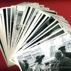 Cine: LOTE DE 88 FOTOS FOTOGRAFIAS DE GRACE KELLY Y RAINIERO DE MONACO EN VALENCIA ,AÑO 1956 , ORIGINALES. Lote 39238280