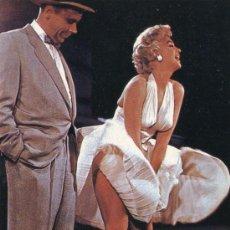 Cinéma: MARILYN MONROE POSTAL DE FRANCIA. Lote 39242126