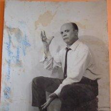 Cine: ANTIGUA FOTOGRAFÍA AUTOGRAFIADA DEL ACTOR RAMÓN CEBRIÁN -JUNIO 1968. Lote 39243718