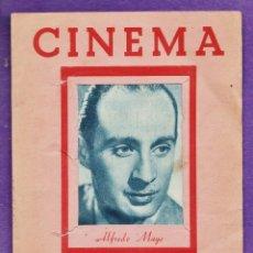 Cine: CINEMA - LOS MEJORES ARTISTAS CON VALE REGALO - Nº 11 - ALFREDO MAYO - ACORDEON DE 6 FOTOS - RD6. Lote 39395041
