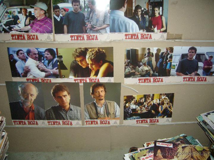 TINTA ROJA FELE MARTINEZ JUEGO COMPLETO YY(22) (Cine - Fotos, Fotocromos y Postales de Películas)