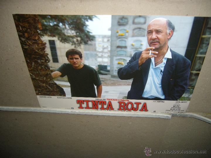Cine: TINTA ROJA FELE MARTINEZ JUEGO COMPLETO YY(22) - Foto 2 - 39843761