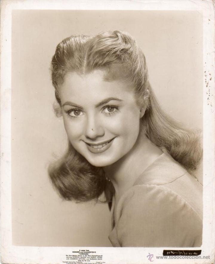 FOTO ORIGINAL CAROUSEL SHIRLEY JONES 1956 IMPRESO EN LOS ESTADOS UNIDOS DE AMÉRICA 20TH CENTURY FOX (Cine - Fotos y Postales de Actores y Actrices)