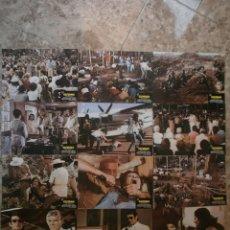 Cine: SET COMPLETO 12 FOTOCROMOS.GUYANA EL CRIMEN DEL SIGLO.1979.NADIUSKA,S.WHITMAN,G.BARRY,E.BEA.. Lote 54539198