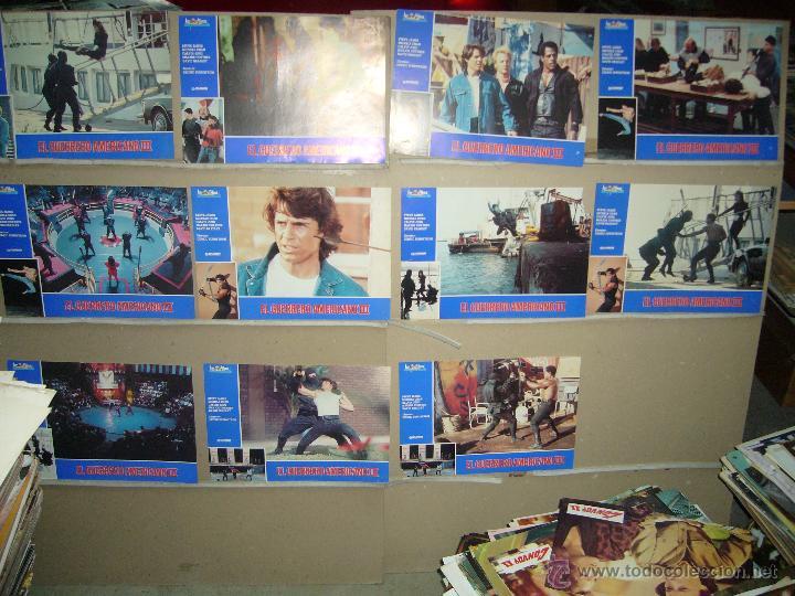 EL GUERRERO AMERICANO III 11 FOTOCROMOS ORIGINALES B(88) (Cine - Fotos, Fotocromos y Postales de Películas)